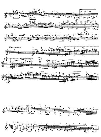 Stravinsky, Concerto, Batt.35 / Prokofieff, Concerto N.1, Scherzo, Batt.2. Stravinsky, Concerto, Batt.86 / Beethoven, Concerto Op.61, Rondò, ed.Peters (vl. e Pf.).